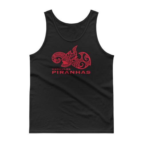 Hercules Piranhas Men's Black Tank top