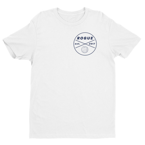 Rogue Water Polo White Short Sleeve T-shirt