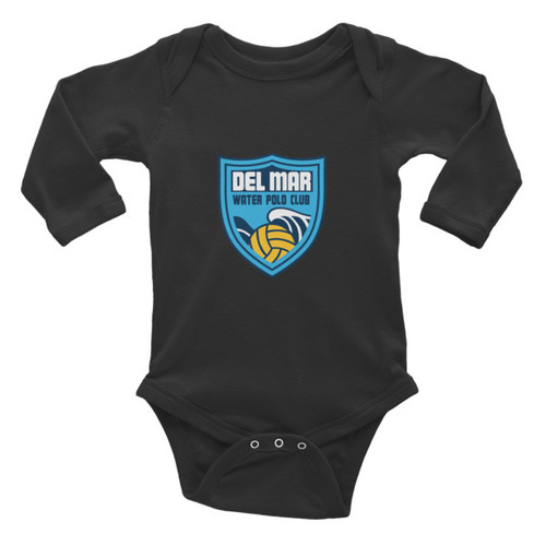 DEL MAR Infant Long Sleeve Bodysuit