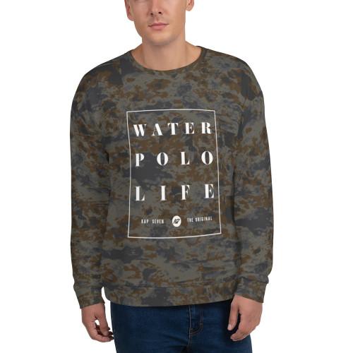 KAP7 Water Polo Life Dusk Tie Dye Crew Sweatshirt