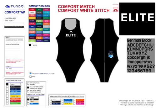 Elite Water Polo Girl's Suit