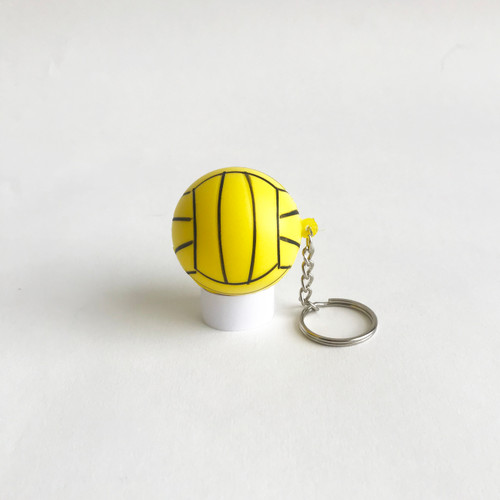 K7 Key Chain Stress Ball - Yellow