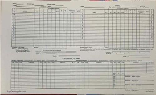 KAP7/TURBO Triplicate Scorebook