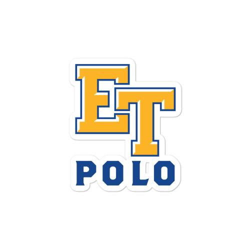 El Toro High School Yellow Bubble-free stickers
