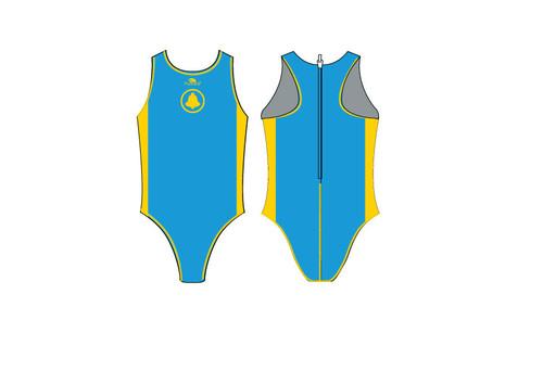 Santa Clara Swim Club Comfort Elite Water Polo Suit