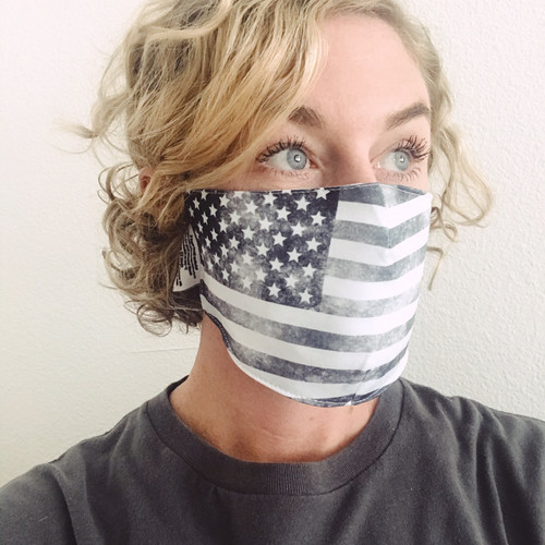 KAP7 USA Amazon Distressed 3 Layer Mask