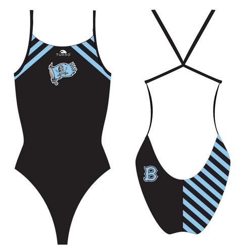 Brazoswood TURBO Womens Pro Thin Swim Suit