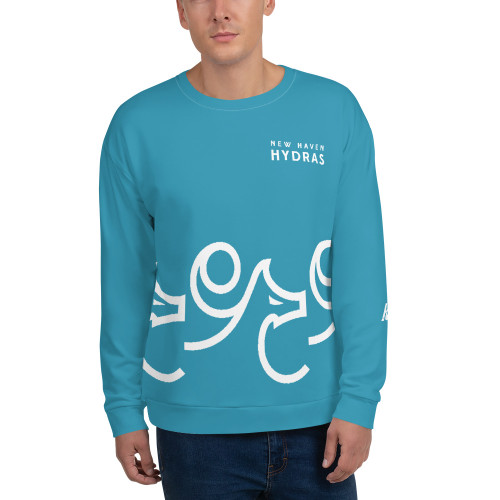 New Haven All Over Print Unisex Sweatshirt