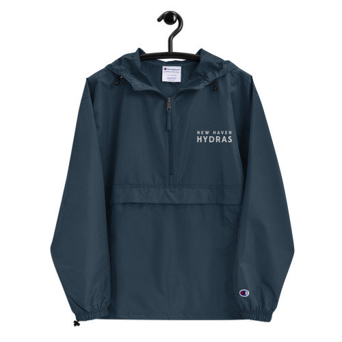 New Haven Embroidered Champion Packable Jacket