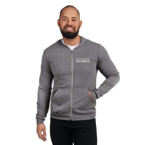 New Haven Unisex zip hoodie