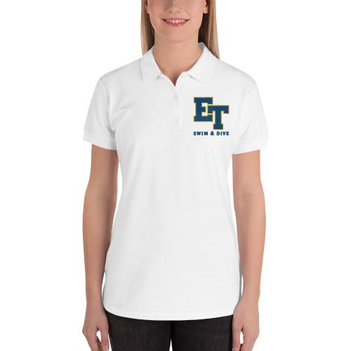 El Toro High School Swim & Dive Embroidered Women's Polo Shirt