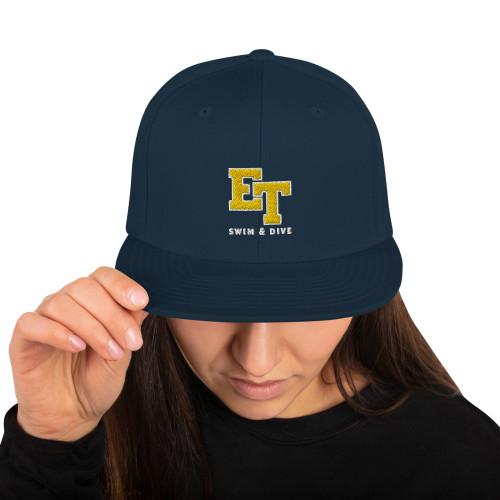 El Toro High School Swim & Dive Snapback Hat