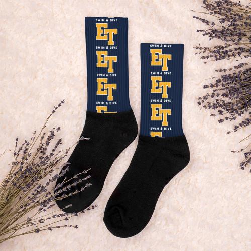 El Toro High School Swim & Dive Socks