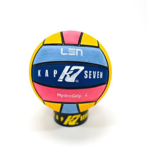 KAP7 LEN Logo EURO Champs 4 Color: Yellow/Navy/Pink/Blue