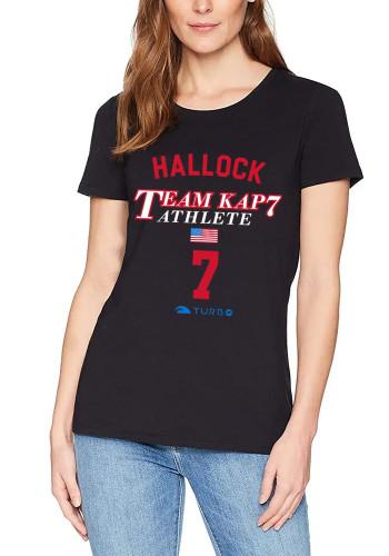 SPECIAL EDITION Ben Hallock KAP7 Team Athlete - Unisex Supersoft Heather Black T-Shirt