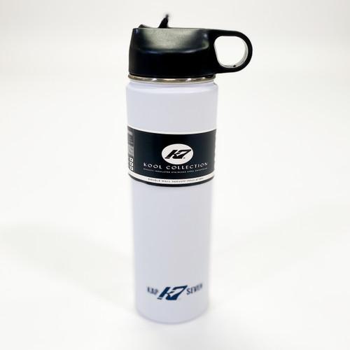 K7 22oz Stainless Steel Sports Drink Bottle-White
