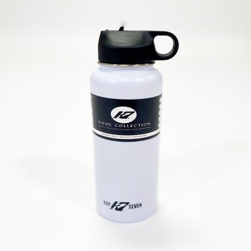 K7 30oz Stainless Steel Sports Drink Bottle-white