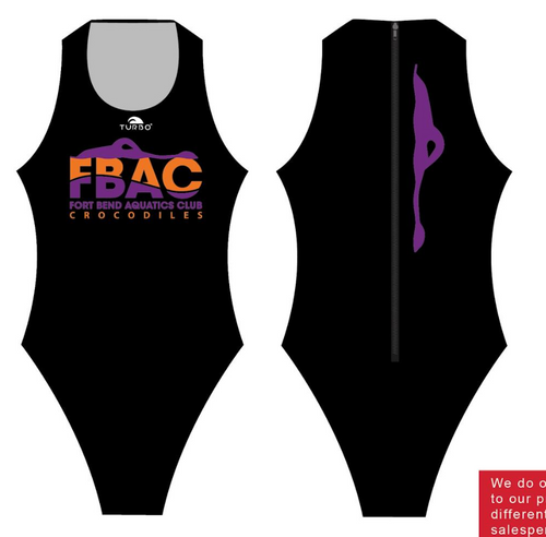 Fort Bend Euro Plus Womens Water Polo Suit