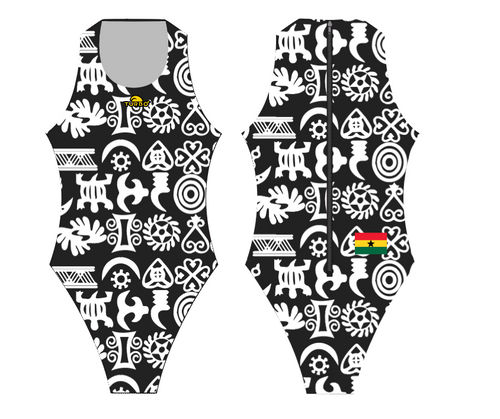 Turbo Ghana Special Edition Women's Water Polo Suit