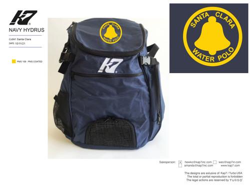 Santa Clara Water Polo Club Backpack