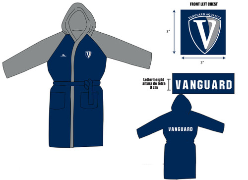 Vanguard Custom TURBO Robe (4 Week Lead Time)