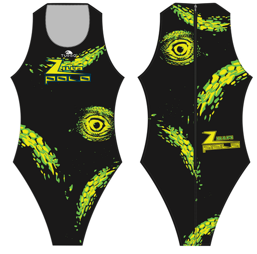 Zilla TURBO Womens Euro Plus Water Polo Suit