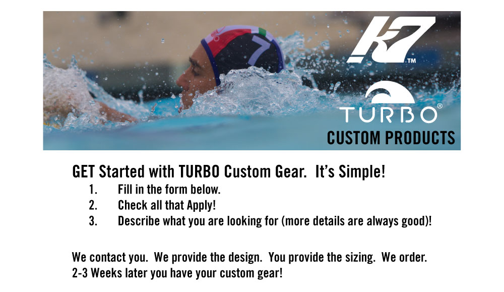 Custom Swim and Water Polo Suits