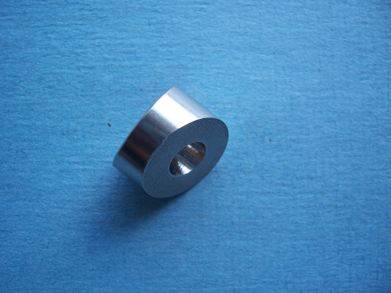 "T316 Stainless Steel 33 Degree Angled Washer, 1/4"" Bore - for 1/8"" to  3/16"" Cable Railing"