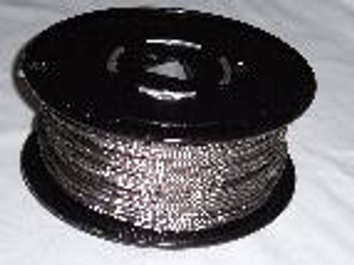 "316 Stainless Steel Wire Rope 1/8"", 7x7, 250 ft reel"