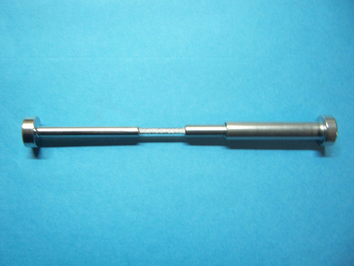 """Type 316 Stainless Steel Cable Railing Invisible Fitting and Dome Fitting  Set  - 1/8"""" Cable"""