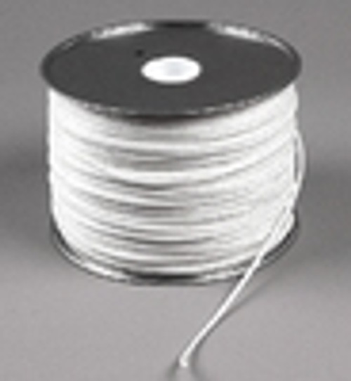 "Diamond Braid Polyester Cord, 1/8"", 500 ft reel"