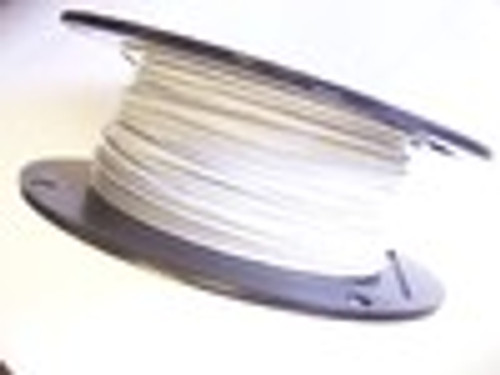 "WHITE Vinyl Coated Cable, 3/32"" - 1/8"", 7x7, 1000 ft"