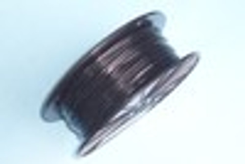 "BLACK Vinyl Coated Cable, 3/64"" - 1/16"", 7x7, 500 ft Reel"