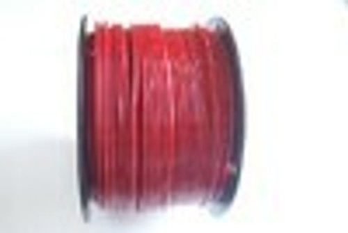 """RED Vinyl Coated Galvanized Cable, 3/32"""" - 3/16"""", 7x7, 1000 ft reel"""