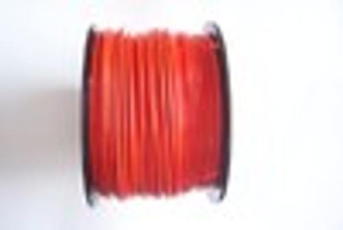 "ORANGE Vinyl Coated Cable, 1/8""-3/16"", 7x7, 1000 ft reel."