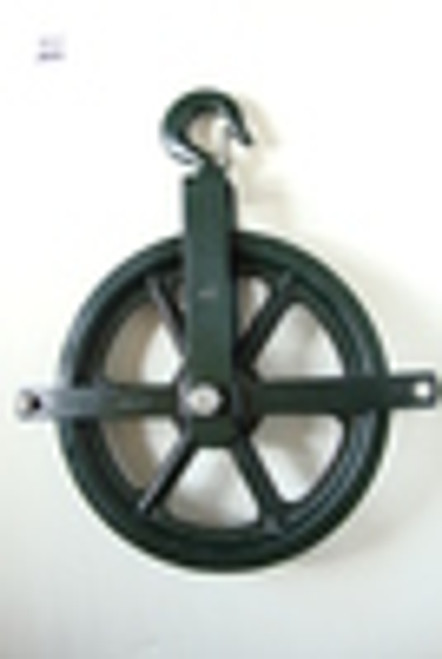 "12"" Gin Block Pulley"