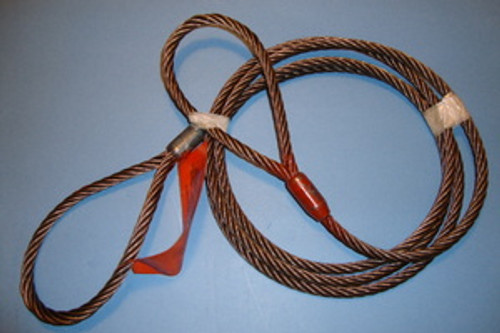 "3/8"" X 5 ft Wire Rope Sling"
