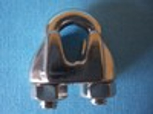 Stainless Steel Malleable Wire Rope Clip,  5/16""
