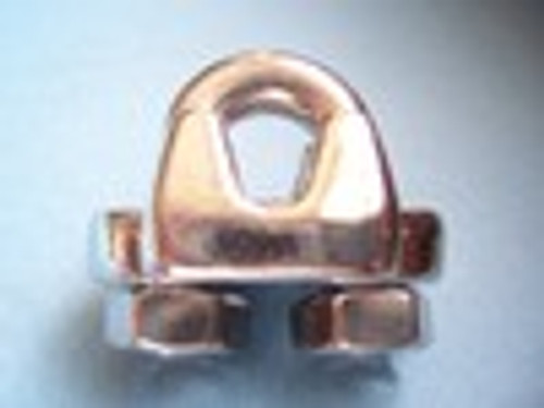 Stainless Steel Heavy Duty  Wire Rope Clip 1/4""