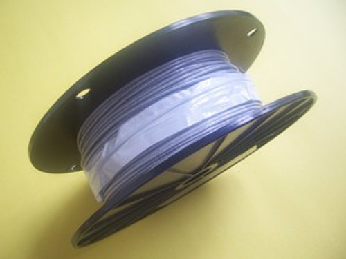 """Clear Vinyl Coated Cable, 1/16""""- 3/32"""", 500 ft reel"""