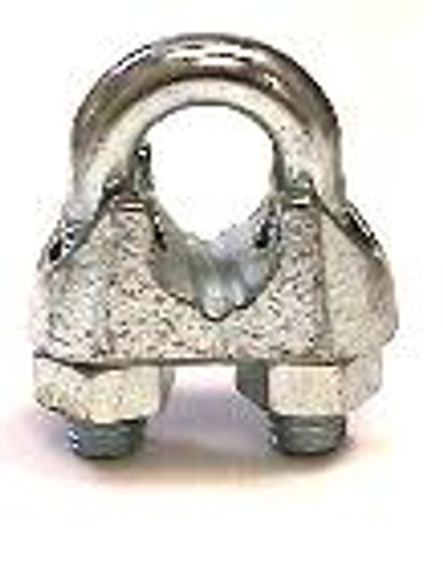 Malleable Wire Rope Clip 1/4""