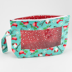 Daisy Girl, Small Project Bag at  The Loopy Ewe