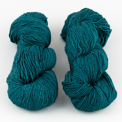 Malabrigo, Dos Tierras // Teal Feather at  The Loopy Ewe