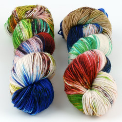 Essence of Autumn, Pasture Sock // A Butterflies Dream at  The Loopy Ewe
