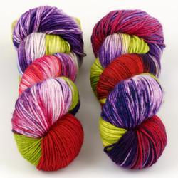 Essence of Autumn, Pasture Sock // Rose & Iris at  The Loopy Ewe