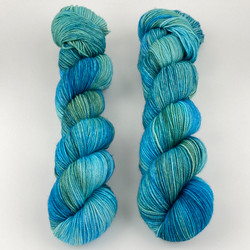 Monthly Exclusive Colorway // Exploration Station - Smooshy with Cashmere at  The Loopy Ewe