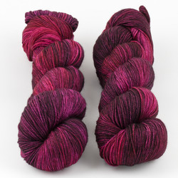 Monthly Exclusive Colorway // Cranberry Cocktail - Smooshy with Cashmere at  The Loopy Ewe