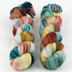Monthly Exclusive Colorway // Quirky - Smooshy with Cashmere at  The Loopy Ewe