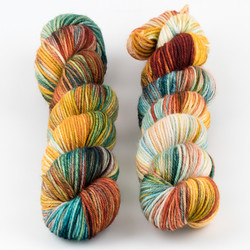 Monthly Exclusive Colorway // Quirky - City at  The Loopy Ewe
