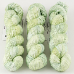 JulieSpins, Cashmere Silk Lace // Cucumber Cooler at  The Loopy Ewe
